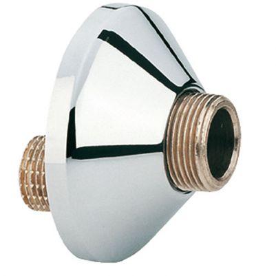 Grohe 12004000 S-koppeling 1/2x1/2 Spong 10mm Chroom
