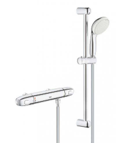 Grohe 34153004 Grohtherm 1000 New Douchecombinatie set Chroom