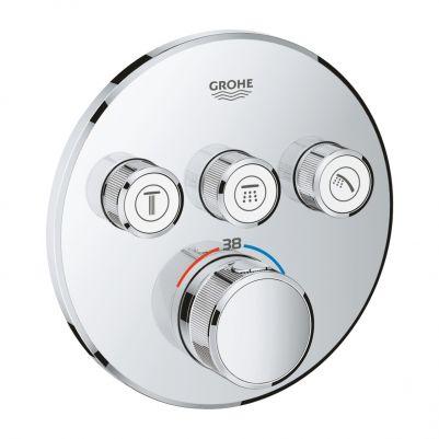 Grohe 29121000 Grohtherm Smartcontrol Thermostatisch Inbouwmengkraan met Omstelling Chroom