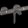 13114340 Hansgrohe Ecostat Comfort Badmengkraan Thermostatisch Brushed Black Chrome